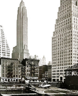 Downtown Skyport Limited Edition Print - Berenice Abbott