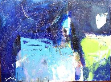 Church 23x31 Original Painting by Vano Abuladze