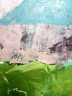 Old Village 31x39 Original Painting by Vano Abuladze - 5