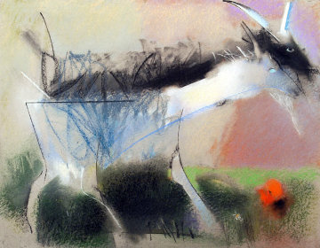 Kids 27x35 Original Painting by Vano Abuladze
