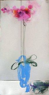 Orchids  Drawing 27x15 Drawing - Vano Abuladze