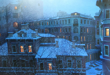 Evening Lights 2000  Limited Edition Print - Alexei  Butirskiy