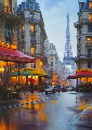 City of Love Embellished 2015 Limited Edition Print - Alexei  Butirskiy