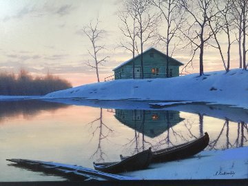 Peaceful Sunset  2000 Limited Edition Print by Alexei  Butirskiy