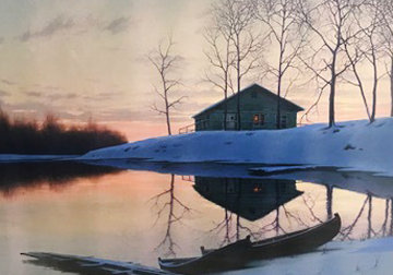 Peaceful Sunset Limited Edition Print - Alexei  Butirskiy