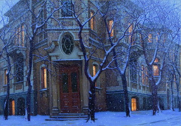 Of Days Gone By 1998 Embellished Limited Edition Print by Alexei  Butirskiy