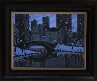 Central Park 2012 20x24 Original Painting by Alexei  Butirskiy - 1