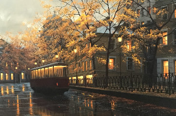 Autumn Glow 2007 Embellished Limited Edition Print by Alexei  Butirskiy