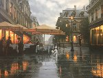 A Rainy Day Embellished Limited Edition Print - Alexei  Butirskiy