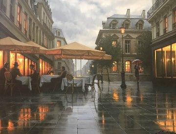 A Rainy Day Embellished Limited Edition Print - Alexei  Butirskiy