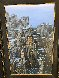 Magnificent Mile 48x36 Chicago Original Painting by Alexei  Butirskiy - 2