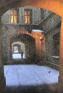 Winters Passage 2010 33x27 Original Painting by Alexei  Butirskiy
