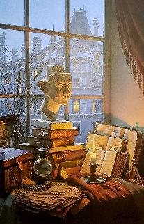 Treasured Past 45x34 Original Painting by Alexei  Butirskiy