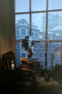 Room With a View Embellished Limited Edition Print by Alexei  Butirskiy