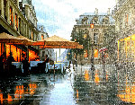 Rainy Day Embellished Limited Edition Print - Alexei  Butirskiy