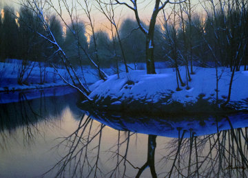 Placid Pond Limited Edition Print - Alexei  Butirskiy