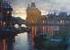 Canal At Dusk 2005 Embellished Limited Edition Print by Alexei  Butirskiy - 0