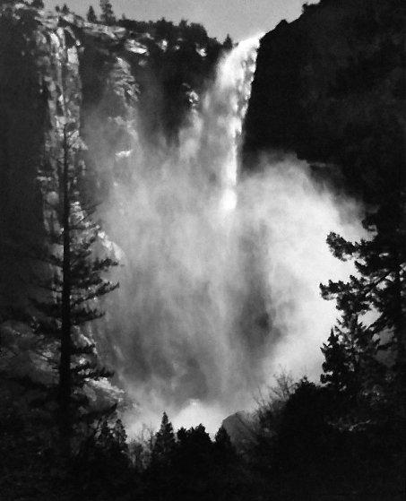 Bridalveil Fall, Yosemite National Park, California 1960 Limited Edition Print by Ansel Adams