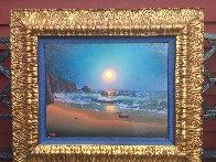 Divine Order 1987 23x27 Original Painting by Loren D Adams - 2