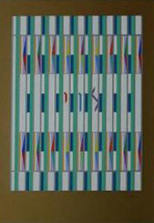 Levi from 12 Tribe Series Limited Edition Print by Yaacov Agam