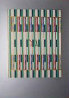 Gaad, from the 12 Tribes of Israel 1981 Limited Edition Print by Yaacov Agam - 0