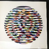 Circle of Peace 1980 Limited Edition Print by Yaacov Agam - 1