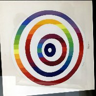 Circle of Peace 1980 Limited Edition Print by Yaacov Agam - 3