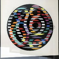 Circle of Peace 1980 Limited Edition Print by Yaacov Agam - 5