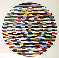 Circle of Peace 1980 Limited Edition Print by Yaacov Agam - 0