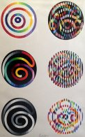 Circle of Peace 1980 Limited Edition Print by Yaacov Agam - 6
