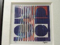 Oval 2005 Limited Edition Print by Yaacov Agam - 1