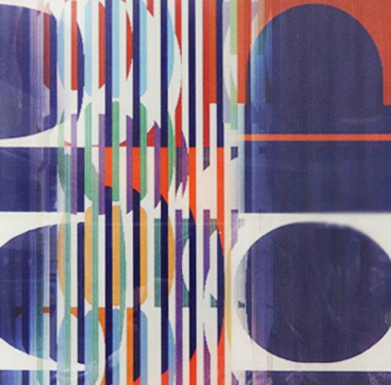 Oval 2005 Limited Edition Print by Yaacov Agam