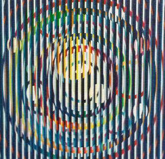 Sun And Moon Galaxy 2007 Limited Edition Print - Yaacov Agam