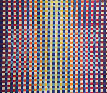 Star of David Limited Edition Print - Yaacov Agam