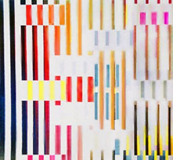 Expanded Spaces Agamograph 1995 Sculpture by Yaacov Agam