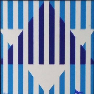 Star of Hope AP 1976 Limited Edition Print - Yaacov Agam