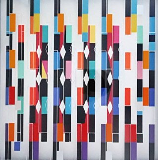 Parallels Limited Edition Print by Yaacov Agam