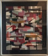 Untitled   Monotype Unique 1990 40x34 Limited Edition Print by Yaacov Agam - 1