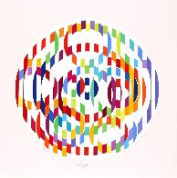 Message of Peace  1980 Limited Edition Print by Yaacov Agam - 0