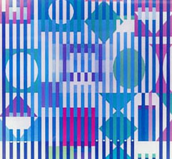 Four Seasons A/B/D 2005 Limited Edition Print - Yaacov Agam
