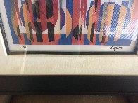 Tango Limited Edition Print by Yaacov Agam - 1