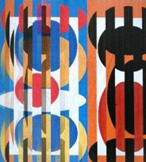 Tango Limited Edition Print by Yaacov Agam