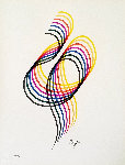 Lines And Forms 1984 Limited Edition Print - Yaacov Agam
