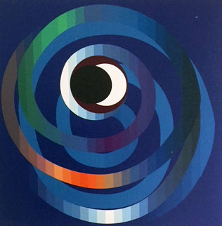 Sun And Moon Intimacy 2007 Limited Edition Print - Yaacov Agam