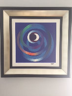 Sun And Moon Intimacy 2007 Limited Edition Print by Yaacov Agam - 1
