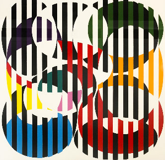 End to End 1971 Limited Edition Print - Yaacov Agam