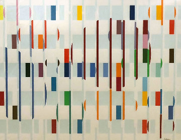 Birds Eye View 1978 Limited Edition Print - Yaacov Agam