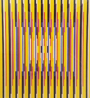 Untitled Serigraph Limited Edition Print by Yaacov Agam