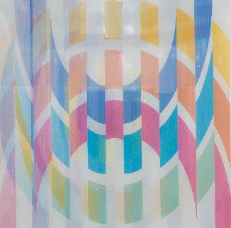 Curbs Agamograph Limited Edition Print by Yaacov Agam