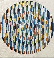 Message of Peace 1980 Limited Edition Print by Yaacov Agam - 4